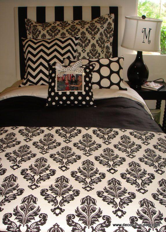 damask college dorm bedding
