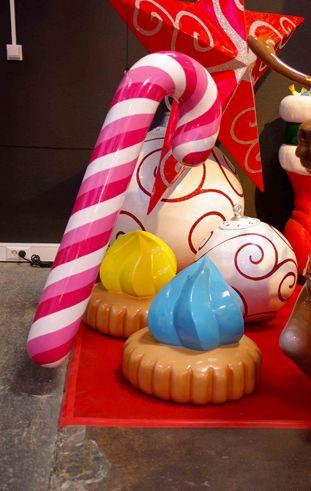 Candy Cane, Weihnachtsdekorationen