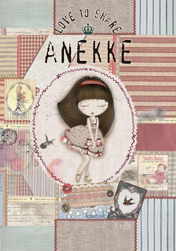 Nueva colección de Anekke: Patchwork para la Primavera - Verano 2016