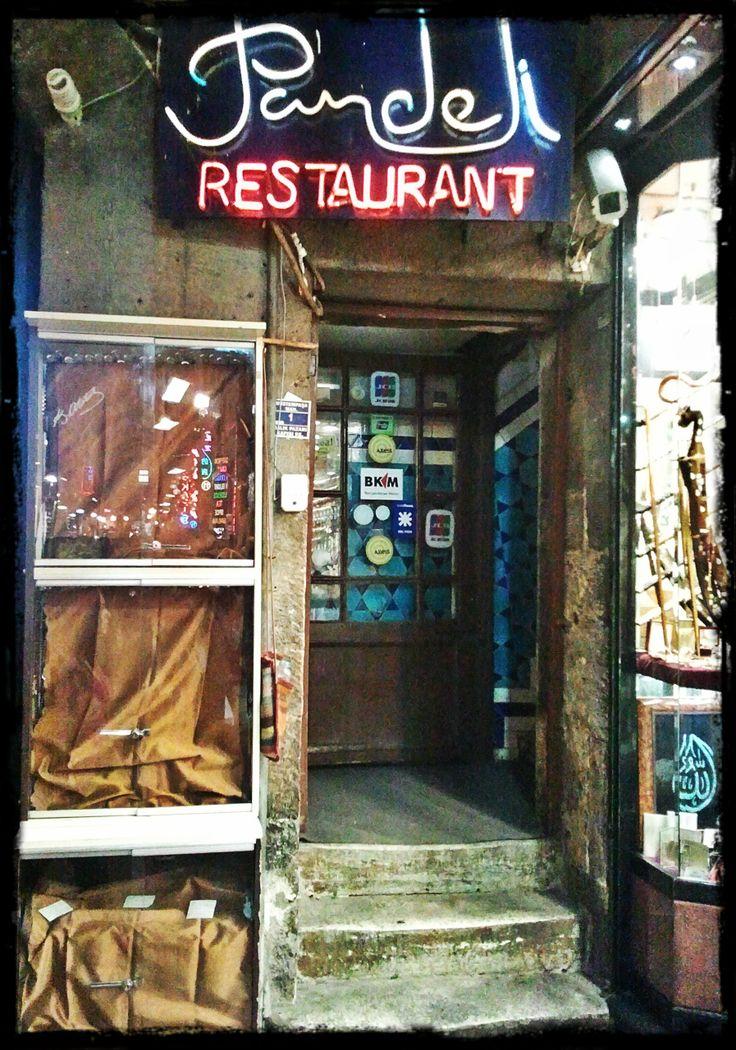 Pandeli Restaurant, Grand Bazaar, Istanbul...entrance of Pandeli