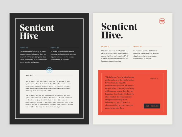 Simple layout design Inspiration for PowerPoint