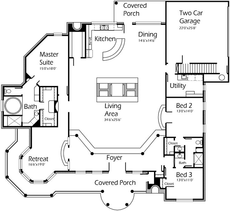 Best House Plans Images On   My House Architecture