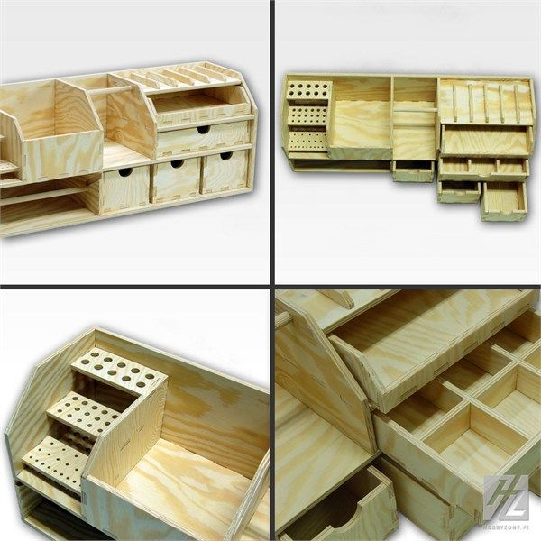 Hobbyzone Workshop Benchtop Organizer 60cm x 22cm - available from Hobbies, the UK's favourite online hobby store!