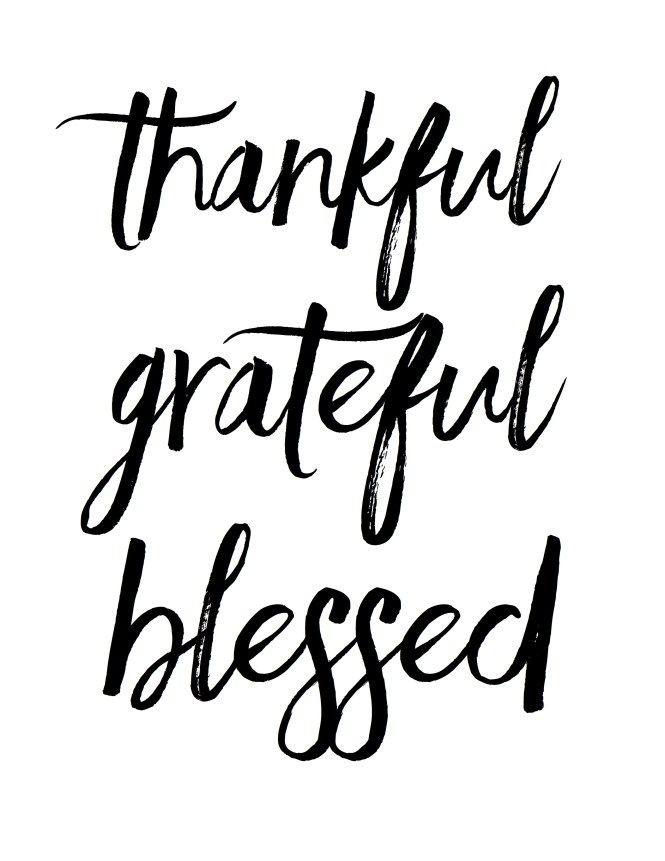 thankful grateful blessed free print crafty creations pinterest