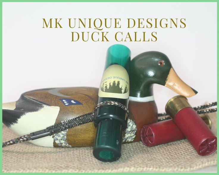 Duck Call single Reed From MK Unique Designs Green #MKUniqueDesigns
