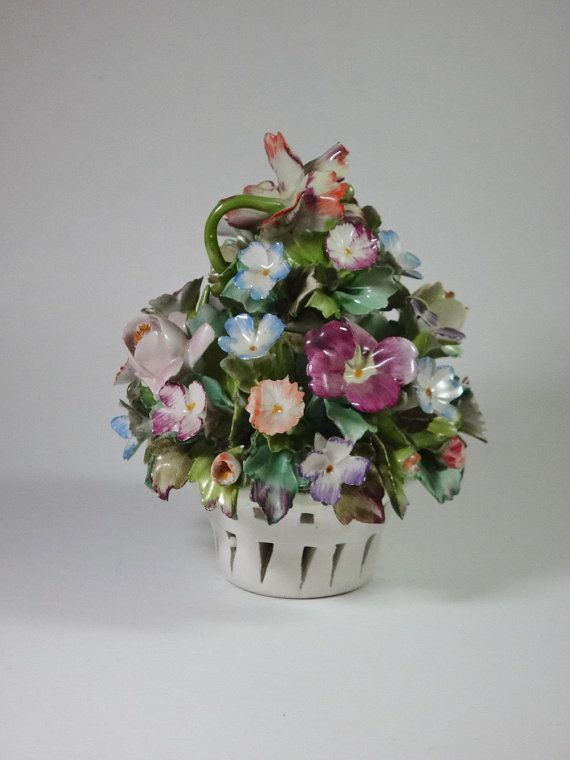 280 Best Capodimonte Flowers Images On Pinterest Ceramic