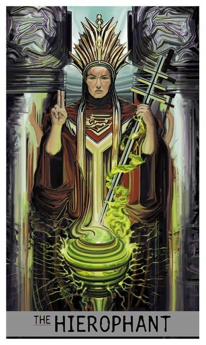 Hierophant in love readings - Aeclectic Tarot Forum - The
