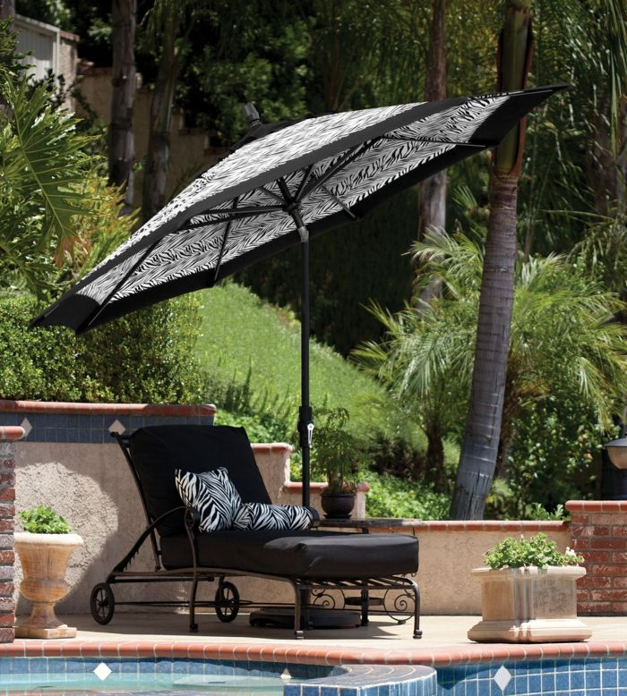 Die besten 25+ Sonnenschirm garten Ideen auf Pinterest Terrasse - sonnenschirm balkon terrasse