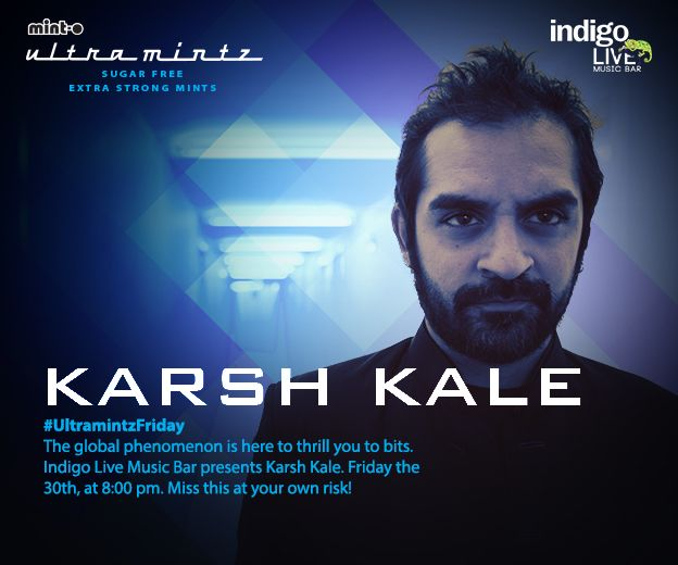 It's time to up the ante at #UltramintzFriday with international #music sensation Karsh Kale!   Party awaits you at Indigo Live - Music Bar one of #Bangalore's most happening pubs.   Make sure you be there by 8 pm tonight (30th Jan 2015). http://on.fb.me/1Lq8mIP