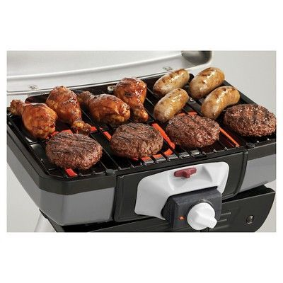 Cuisinart Outdoor Portable Electric Grill - Silver
