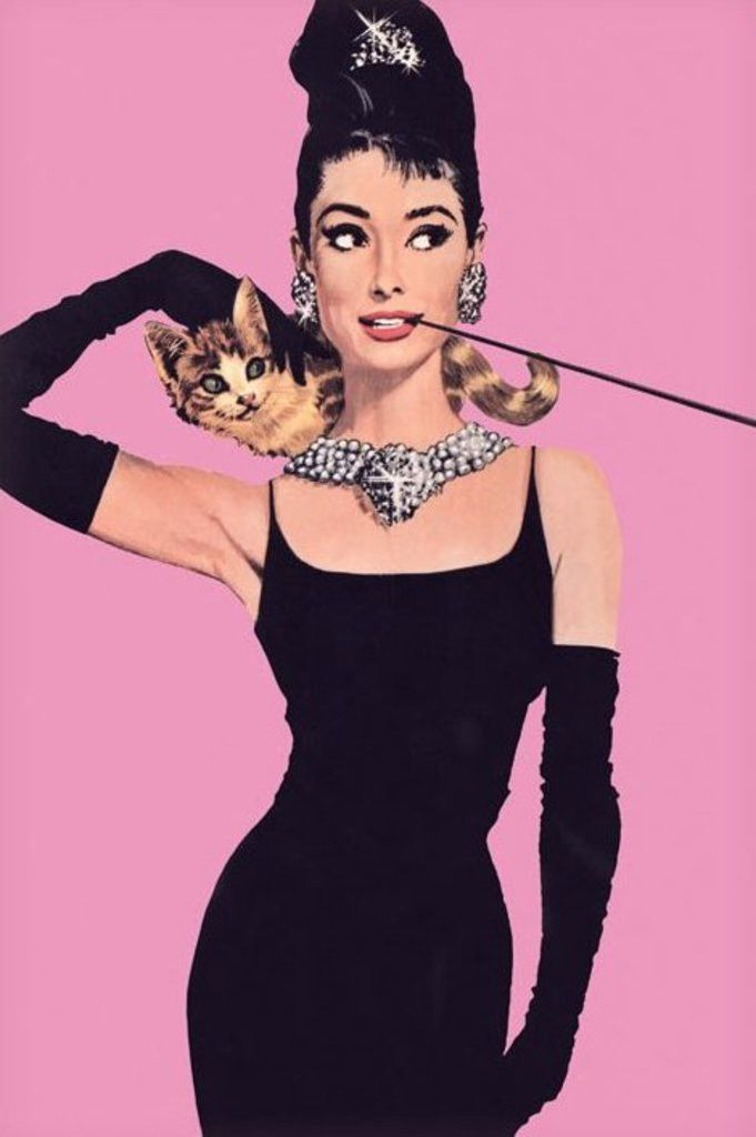 Audrey Hepburn - Pink - Official Poster. Official Merchandise. Size: 61cm x 91.5cm. FREE SHIPPING                                                                                                                                                      Más