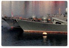 Леопардов будет защищать Тихоокеанский флот