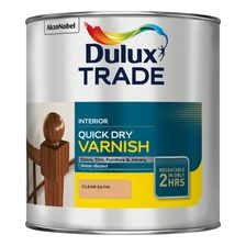 Matt, Satin & Gloss Varnish | Dulux Decorator Centre