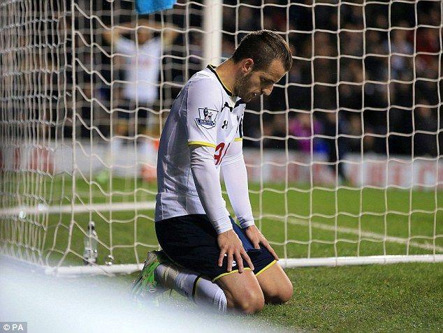 Roberto Soldado's time at Tottenham had a general theme of dejection