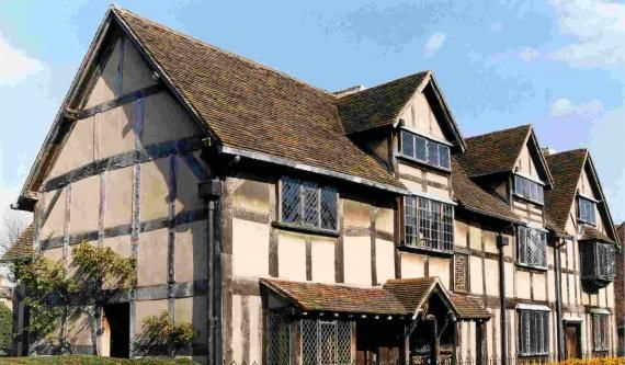 Shakespeare's birthplace. Also, apparently, one can tour Anne Hathaway's cottage, Nash's House & New Place, Mary Arden's Farm and Hall's Croft. #vacation #literary