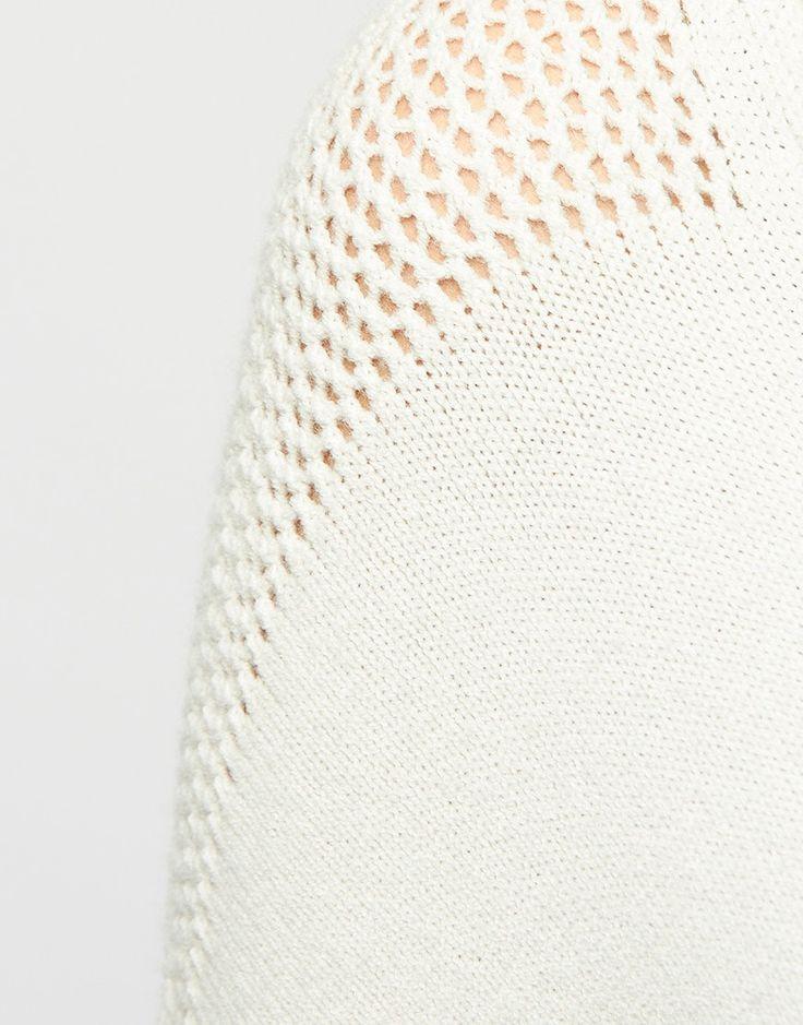 Trui - V-Neck Sweater Crème