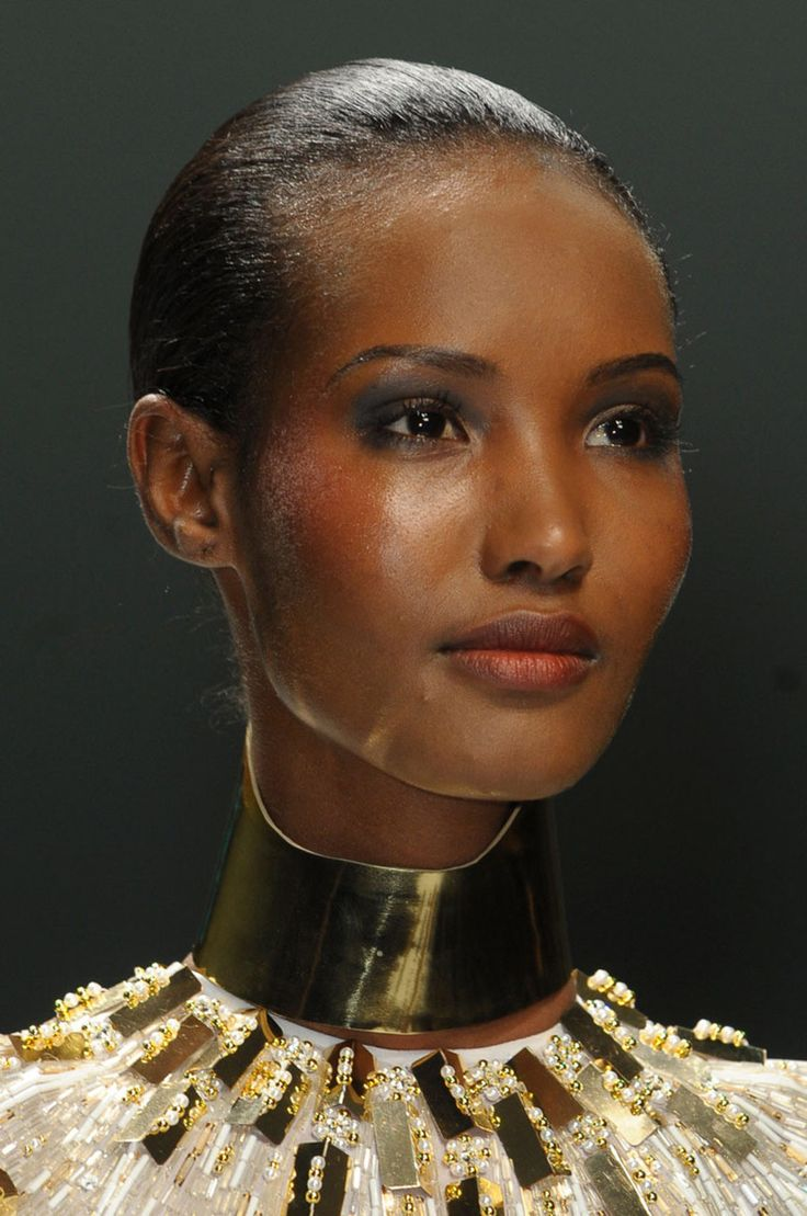 20 of the Most Stunningly Beautiful Black Women in the World : Fatima Siad, a Somali-Ethiopian born fashion model, raised in Boston, Massachusetts
