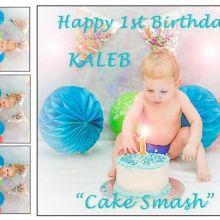 Thumbnail for Kaleb Cake Smash 2016