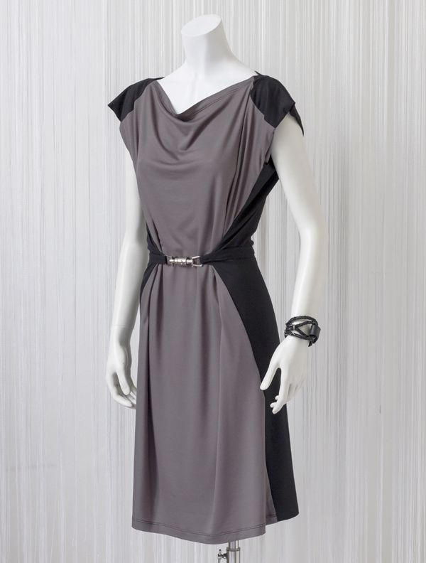 Grey Jersye Dress