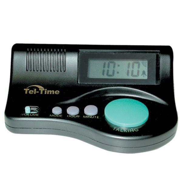 Curve Talking Clock - Talking Clocks - MaxiAids