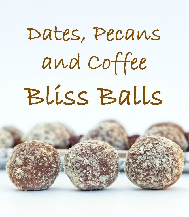 These Dates, Pecans and Coffee Bliss Balls are smooth in texture and offer a much more defined flavour… an ideal chocolate replacement but much healthier and not as sweet. The coffee flavour really…