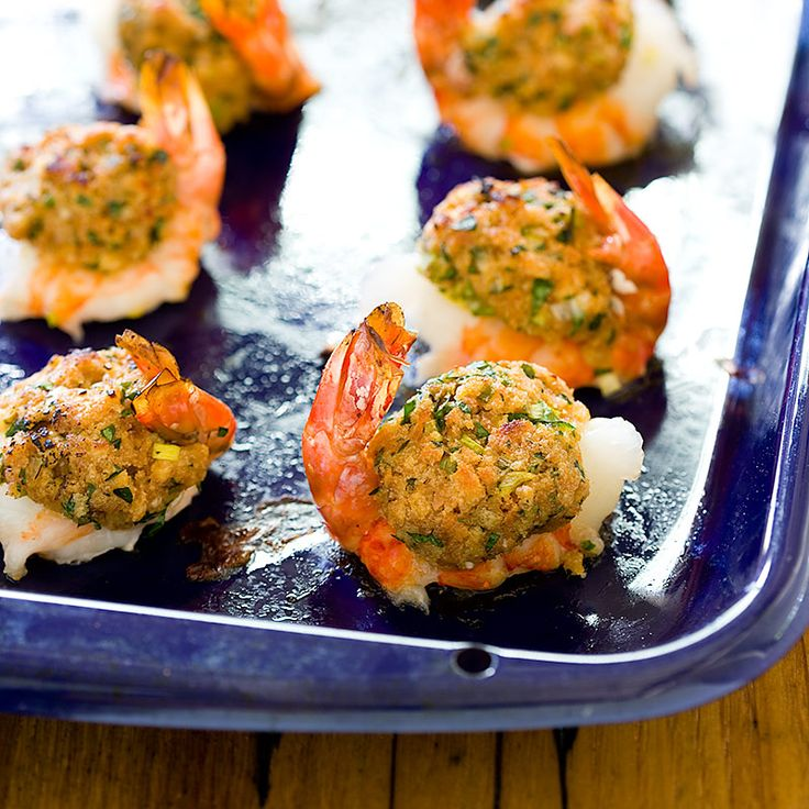 Baked Stuffed Shrimp from Cook's Country