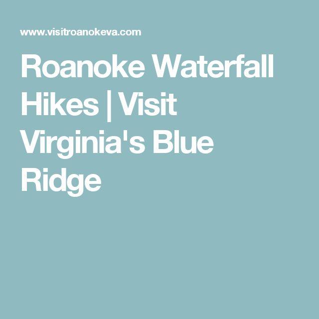Roanoke Waterfall Hikes | Visit Virginia's Blue Ridge