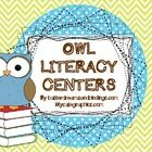 This adorable packet contains OWL themed Daily 5 signs along with prompt question cards to use during read to self or read to someone.  I also incl...
