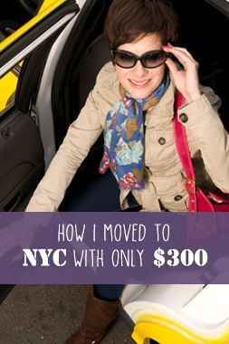 Here is how I moved to NYC with no money and only a handful of connections. debt strategies, pay off debt, how to pay off debt #debt