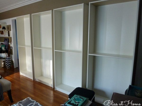 Ikea Billy Bookcase System...This Site Shows How To Assemble, Arrange,