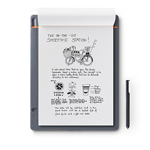 Wacom Bamboo Slate - Cuaderno digital inteligente, color gris #Wacom #Bamboo #Slate #Cuaderno #digital #inteligente, #color #gris