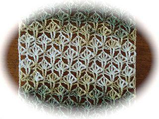 Shell Lace Stole - free crochet pattern by Wendy Poole. Dk yarn, 4mm hook.