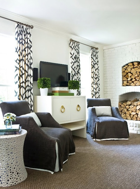 A Melanie Turner designed living room