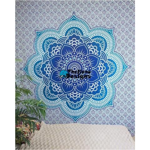 Buy Mandala Tapestry | Hippie Wall Tapestry | Shop Tapestry Online – TheNanoDesigns