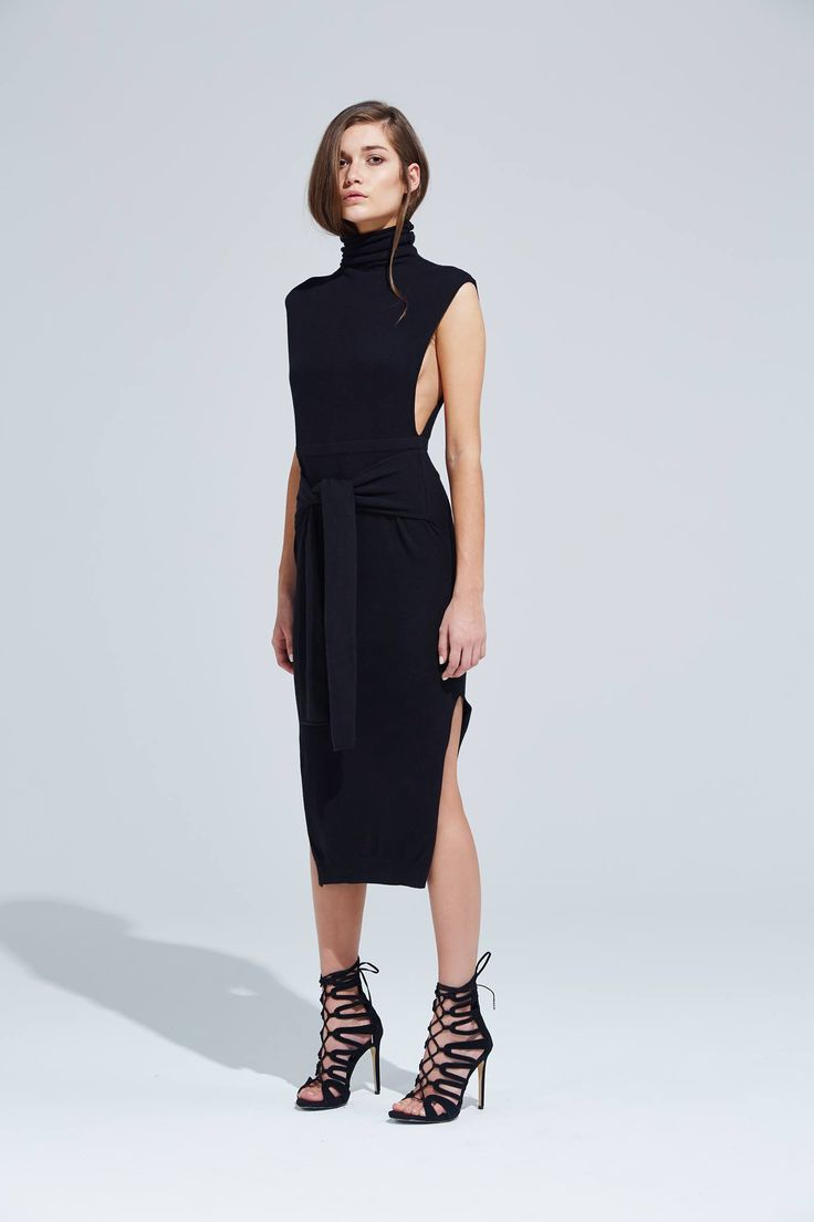 Bless'ed Are The Meek - Clamp Dress - Black