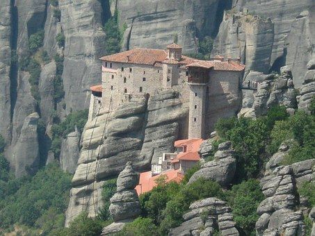 Meteora in Greece - A perfect blend of architecture and natural beauty.