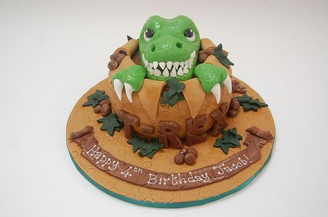 T-Rex Cake – Beautiful Birthday Cakes