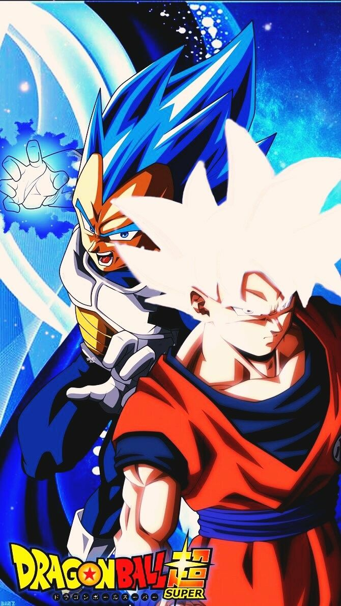 Ultra Blue and Perfect UI    Vegeta and Son Goku