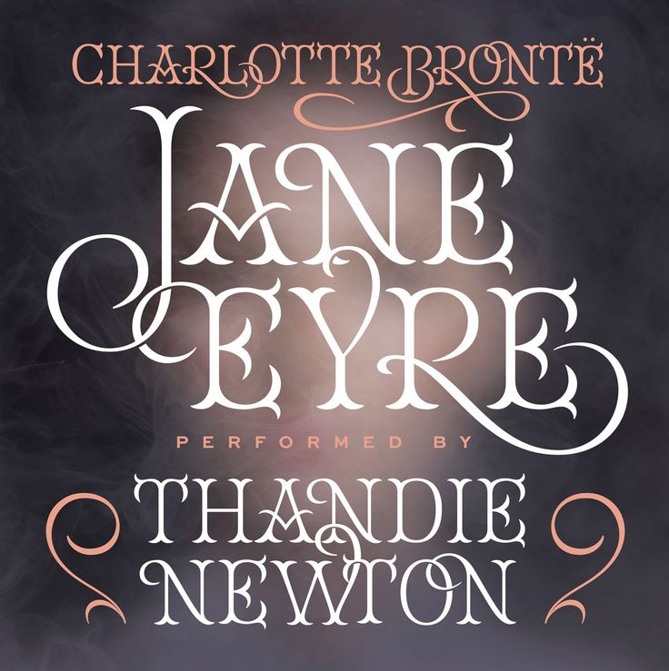 Jessica Hische - Jane Eyre for Audible