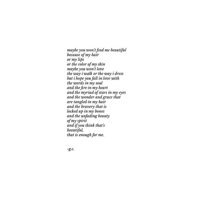 beautiful. | i was unsure of sharing this poem on social ...