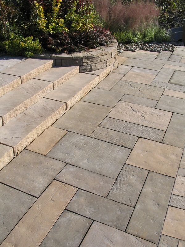 Home Depot Patio Slabs : Old cathedral slabs nicolock interlocking paving stones