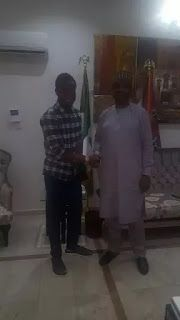 Mikel hangs out with Saraki (photo)   Feel this Chelsea Senior man and Super Eagles' coach hanging out with Senate President; Bukola Saraki.  He has assured Nigerians of a Super play against Zambia on the 9th of October (Saturday) and also added that he had no injury and doesn't know where the rumore came from. I dont know where the story about my being injured came from. I have no injury. All the other players and myself are fit and ready and we are determined to start the World Cup race on…