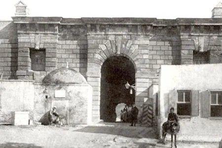 Καινούργια Πόρτα ή  Πύλη του Ιησού, Ηράκλειο - Jesus Gate Heraklion 1900-1905