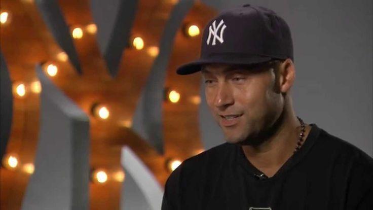 Derek Jeter talks about his parents