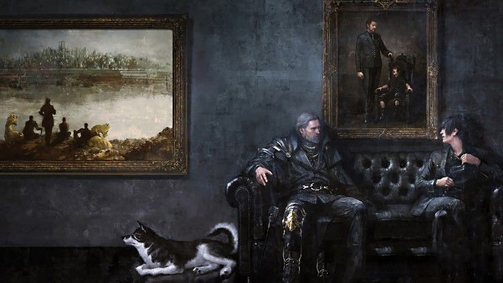 Noctis and Regis Final Fantasy XV Wallpaper