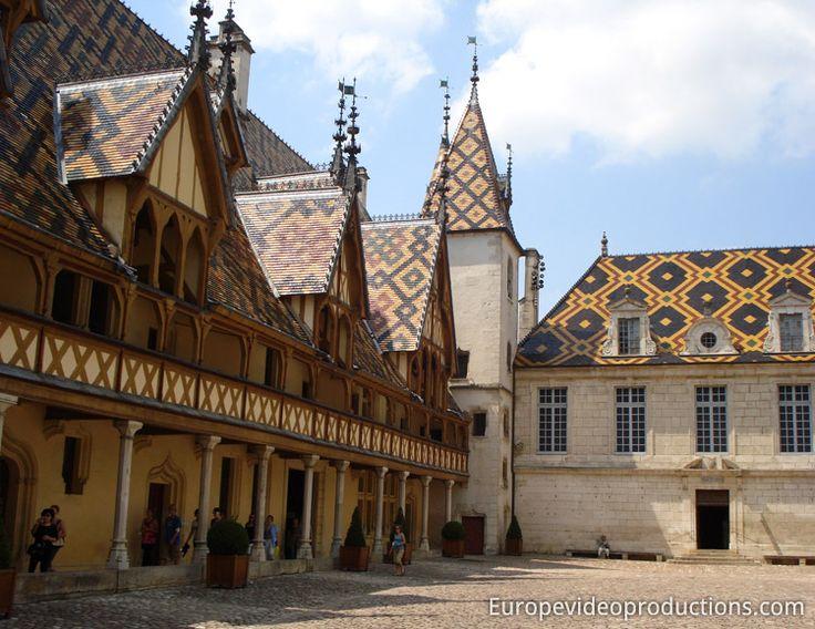 Les Hospices de Beaune en Bourgogne en France