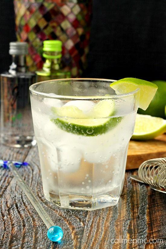 #Cocktail Inspiration : Gin Mojito 1½ oz #Gvine #Gin Floraison 3 mint springs ½ oz simple syrup ½ oz fresh lime juice 1 oz club soda