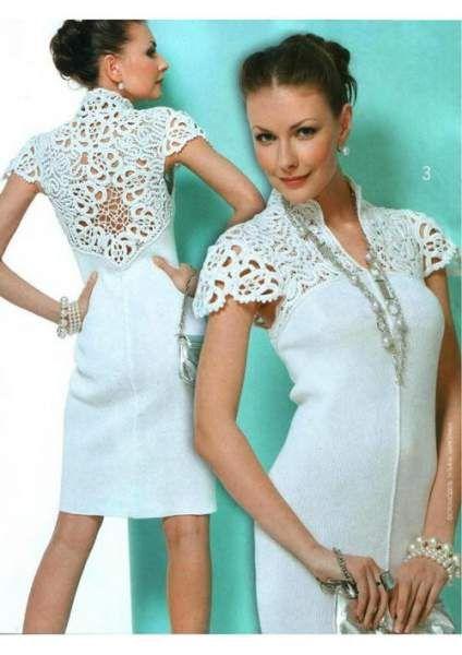 Вязаные платья крючком на заказ