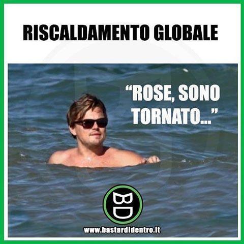 Riscaldamento globale!! Titanic! Divertente bastardidentro (@bastardidentro) | Twitter