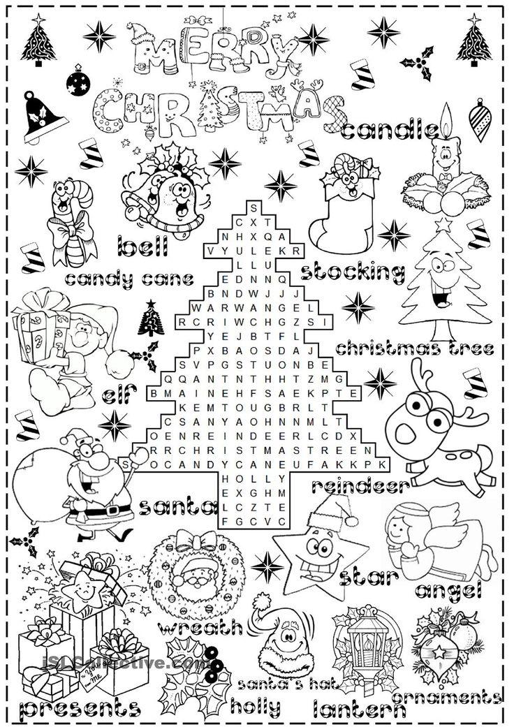 Best 25+ Christmas worksheets ideas on Pinterest ...